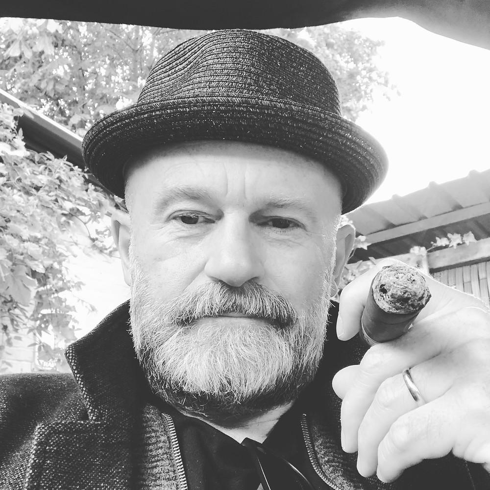 life coach Eddy Smits with cigar