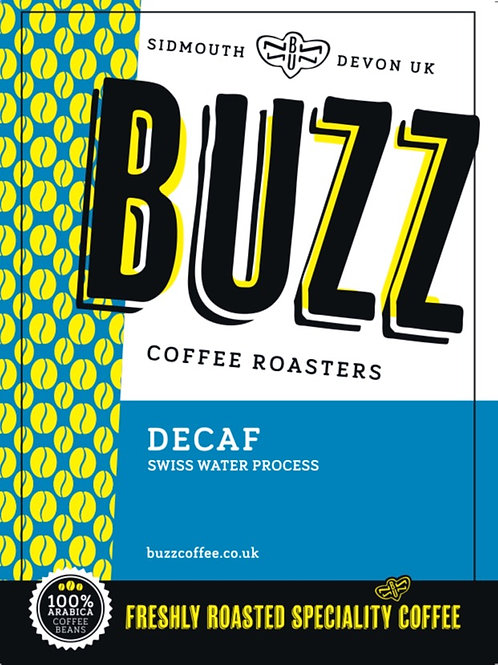 1kg Ethiopia Decaffeinated (Swiss/Sparkling Water Process)