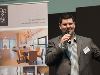 CHARLES SPEAKING AT THE HIA SYDNEY HOMESHOW