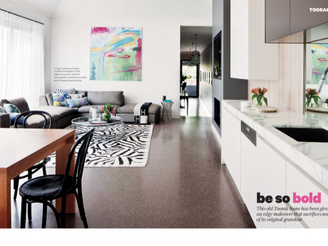 TOORAK HOUSE FEATURE - HOME DESIGN VOL. 16 NO. 5