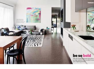 TOORAK HOUSE FEATURE - HOME DESIGN VOL. 16 NO. 5