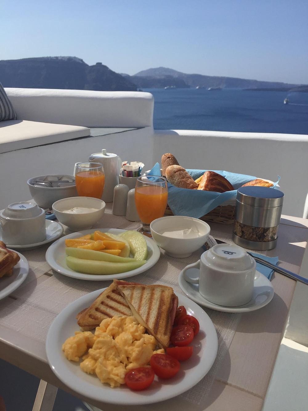 colazione in suite