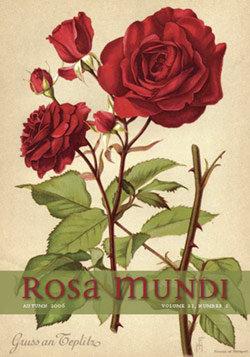 Rosa Mundi #4, Vol. 21, No. 1, Autumn 2006