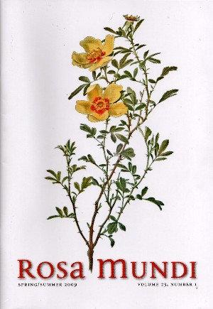 Rosa Mundi #10, Vol. 23, No. 1, Spring/Summer 2009