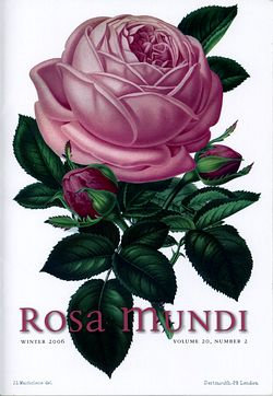 Rosa Mundi #2, Vol. 20, No. 2, Winter 2005