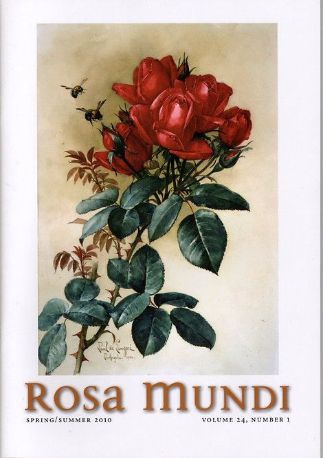Rosa Mundi #12, Vol. 24, No. 1, Spring/Summer 2010