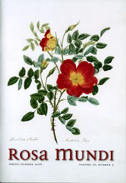 Rosa Mundi #3, Vol. 20, No. 3, Spring/Summer 2006