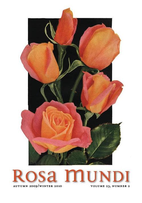 Rosa Mundi #11, Vol. 23, No. 2, Aut.09/Winter10
