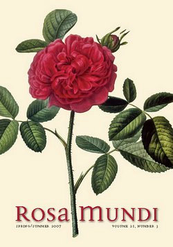 Rosa Mundi #6, Vol. 21, No. 3, Spring/Summer 2007