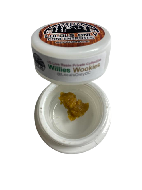 Willies Wookies 1G Buddar - Locals Only Concentrates