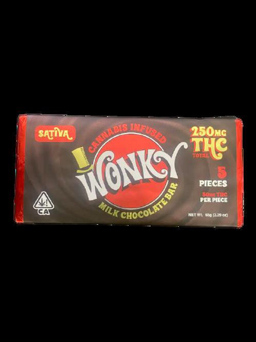 Wonky Milk Chocolate Bar (Sativa)