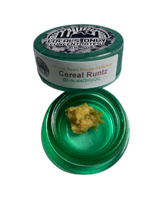Cereal Runtz 1G Buddar  - Locals Only Concentrates