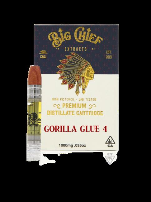 Big Chief Extracts - Gorilla Glue #4 1G