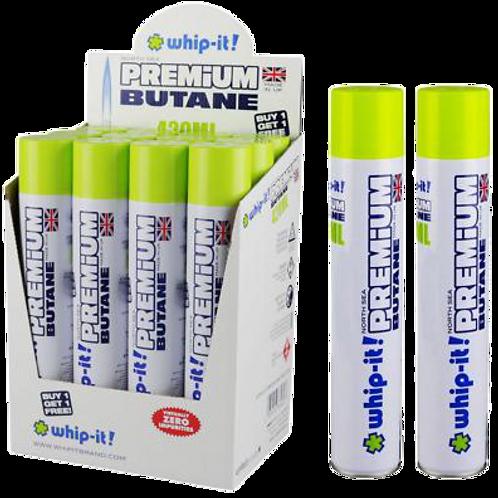 Whip-It! Premium Butane Zero Impurities 420ML (12 Pk Available)