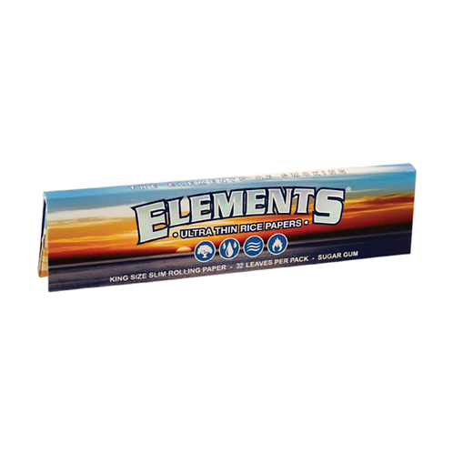Elements - Ultra Thin Rice Papers (King Size)