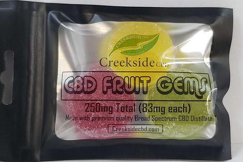 Creekside CBD - 250mg Fruit Gems