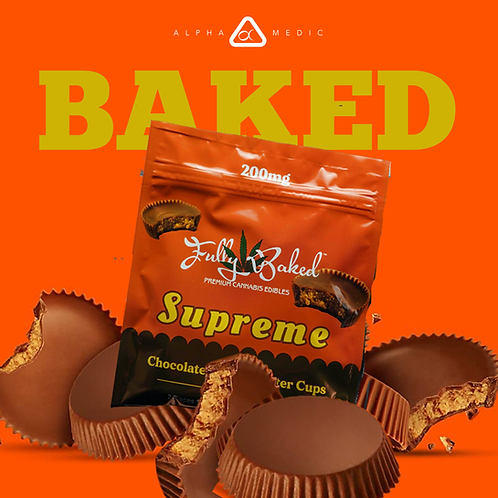 Fully Baked 200mg Chocolate Peanut Butter Cups