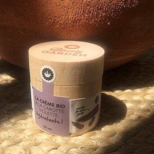 Crème hydratante à la carotte violette Beauty Garden