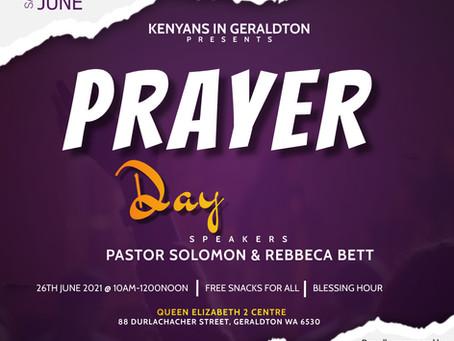 Geraldton Prayer Day!