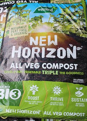 Organic Veg Compost 50L