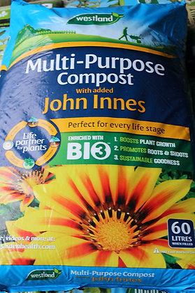 Multi-Purpose Compost (John Innes) | 60L