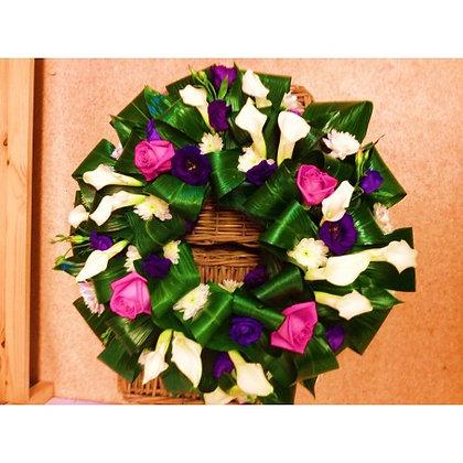 Traditional Wreath - Calla