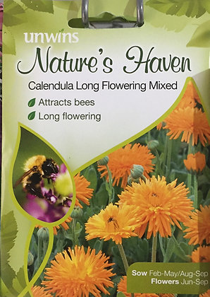 Calendula | Long Flowering Mix