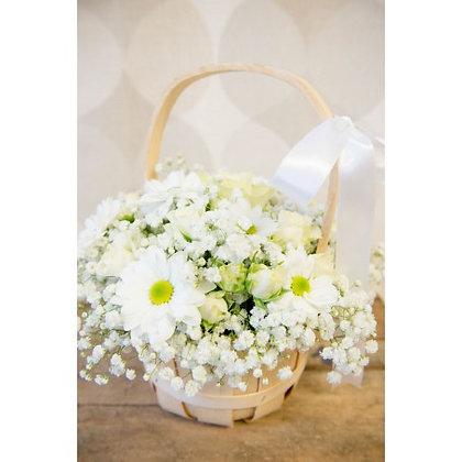 White Basket Sensation