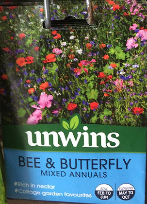 Bee & Butterfly Mix