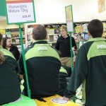 Dog Trouble delivers training to the Pets At Home Staff, Wokingham