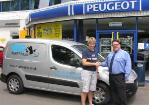 Dog Trouble On Wheels Thanks To Wokingham Peugeot