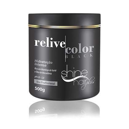 Máscara Relive Color Black 500g