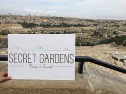 secretgardenstours Jerusalem View