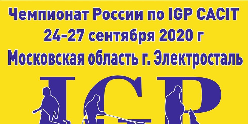 Чемпионат России по IGP CACIT