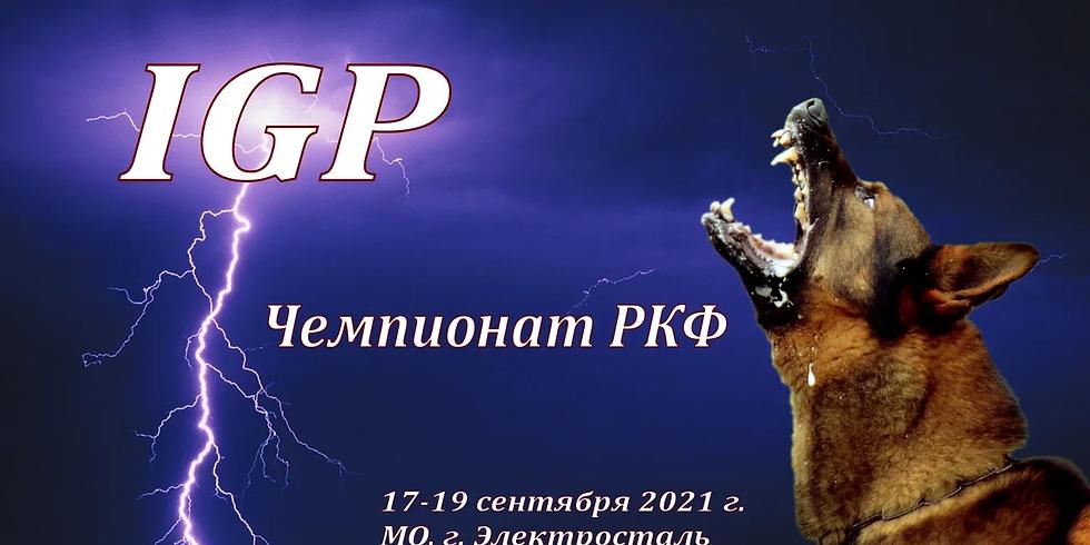 Чемпионат РКФ  по IGP 2021