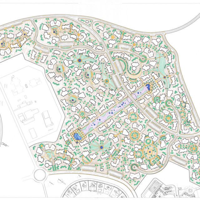 El Gouna Office Park Conceptual Plan