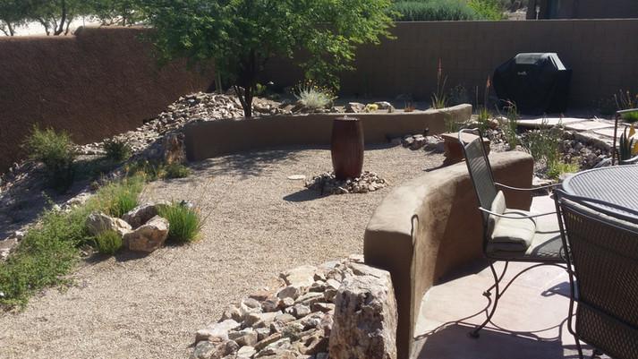 Center Backyard Built