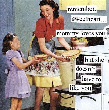 Una madre può solo sbagliare