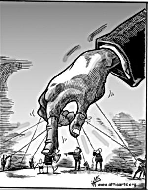 La mano invisibile e la mano armata