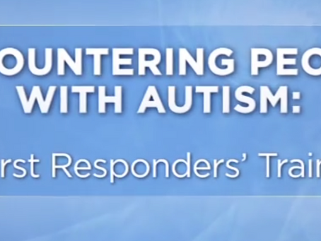 Encountering People with Autism: A First Responders' Training - YouTube