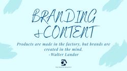 Branding & Content