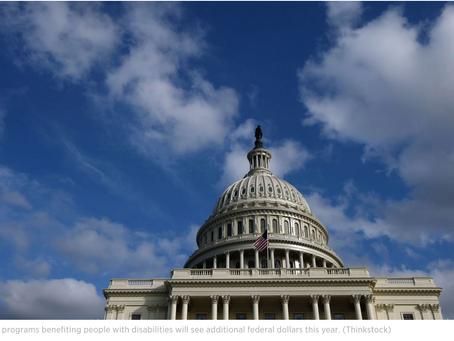 Congress Hands Special Ed Hefty Funding Boost