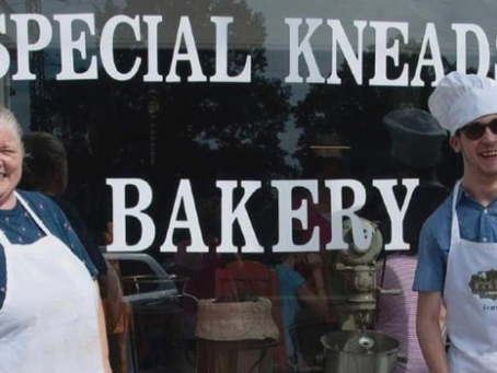 Mom opens Special Kneads Bakery to employ her son with cerebral palsy