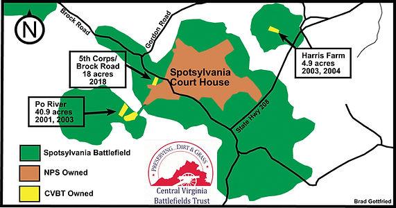 Spotsylvania Battlefields