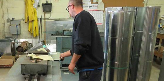 commercial air duct fabrication fredericksburg stafford va