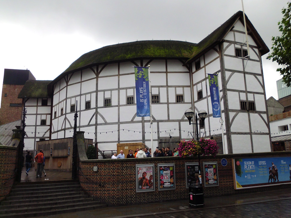 Shakespeare's reconstructed Globe Theatre in London