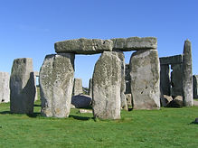 The mystical Stonhenge neolithic stone monument and UNESCO World Heritage Site