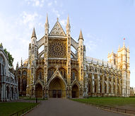 the 1000 year old Westminster Abbey where Prince William married Kate Middleton