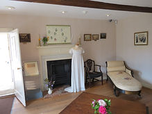 The charming house at Chawton where the novelist Jane Austen lived