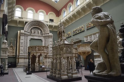 The cast courts at the V & A bringing European art and culture to London